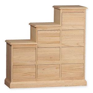 Muebles auxiliares en crudo sin pintar