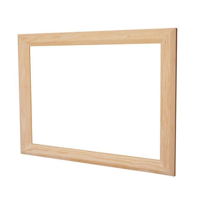 Marco para espejo madera pino crudo modelo Marsella