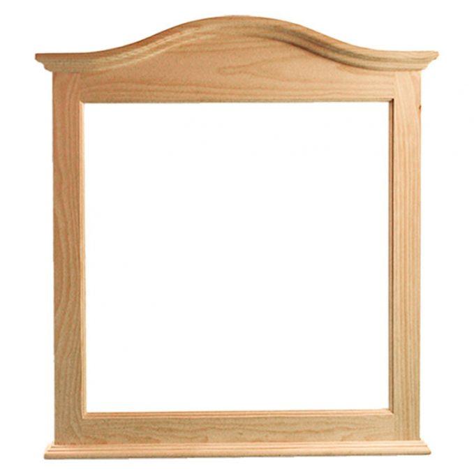 Marco madera pino crudo modelo Estilo sin talla